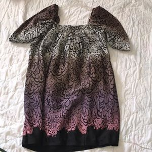 NWOT BCBGeneration Large Sleeveless Pleats Dress
